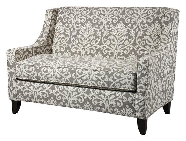 Corinthian 56A0 Settee - Item Number: ST56A-Katkin-Pewter