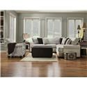 Corinthian 5900 Two piece sectional - Item Number: 5900
