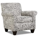 Corinthian 5900 Contrast Accent Chair - Item Number: AC859