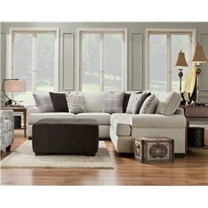 Corinthian Griffin 2 Piece Sectional