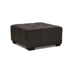 Corinthian Griffin Square Cocktail Ottoman