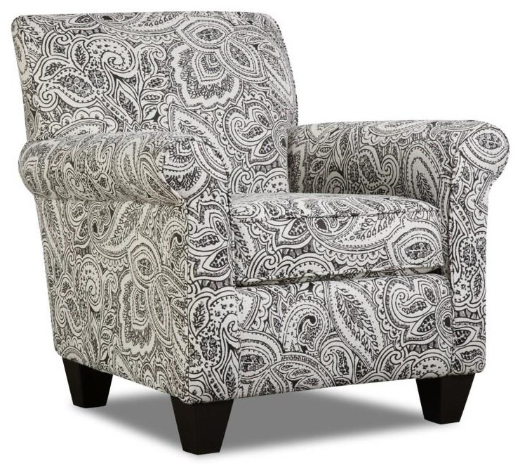 Corinthian Griffin Coronado Accent Chair & Ottoman - Item Number: CORI-GRP-AC859-CO