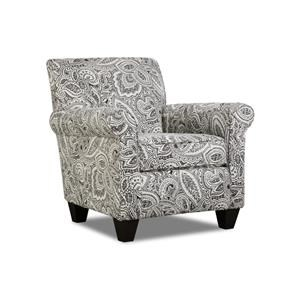 Corinthian Griffin Coronado Accent Chair & Ottoman