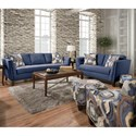Corinthian 6000 Stationary Living Room Group - Item Number: 6000 Living Room Group