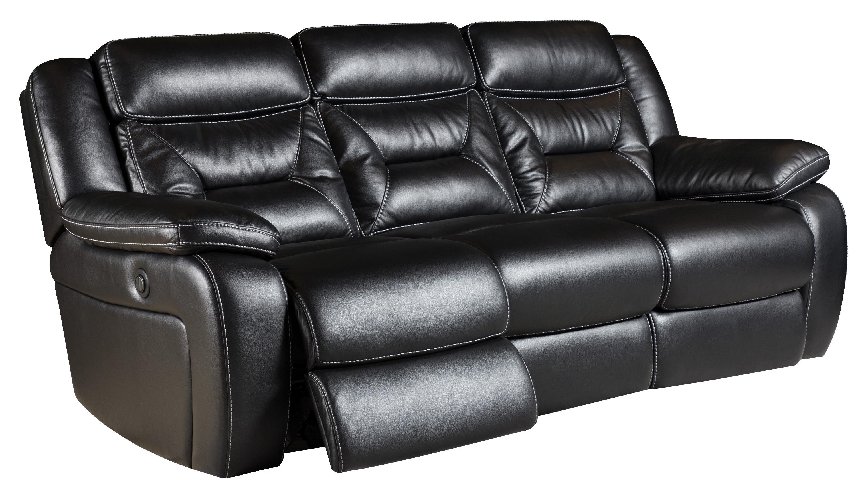 Jamestown Reclining Sofa with 2 Recline Seats Belfort Furniture