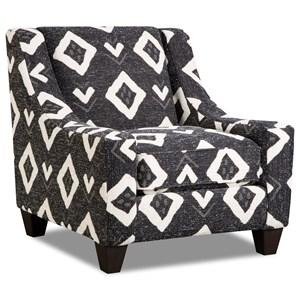 Corinthian Paradigm Carbon Accent Chair