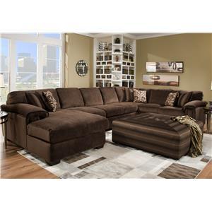 Corinthian 6500 Sectional Sofa