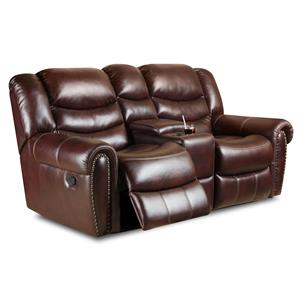 Corinthian 655 Motion Group Power Recline Console Loveseat