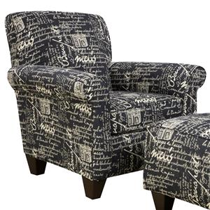 Ordinaire Corinthian 6610 Accent Chair