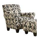 Corinthian 66E0 Accent Chair - Item Number: AC1466D