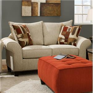Corinthian 65A0 Love Seat Sofa