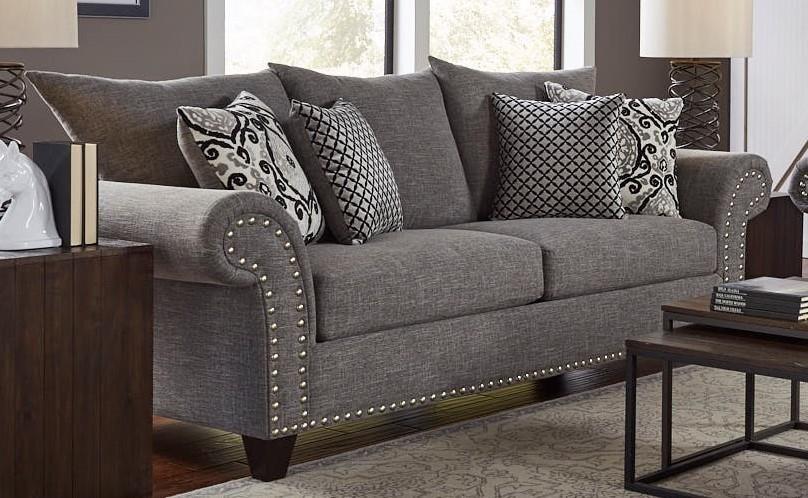 Corinthian 66J Upholstered Sofa - Item Number: 66J3