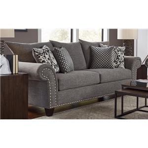 Merveilleux Corinthian 66J Sofa   Furniture Fair   North Carolina   Sofas Jacksonville,  Greenville, Goldsboro, New Bern, Rocky Mount, Wilmington NC