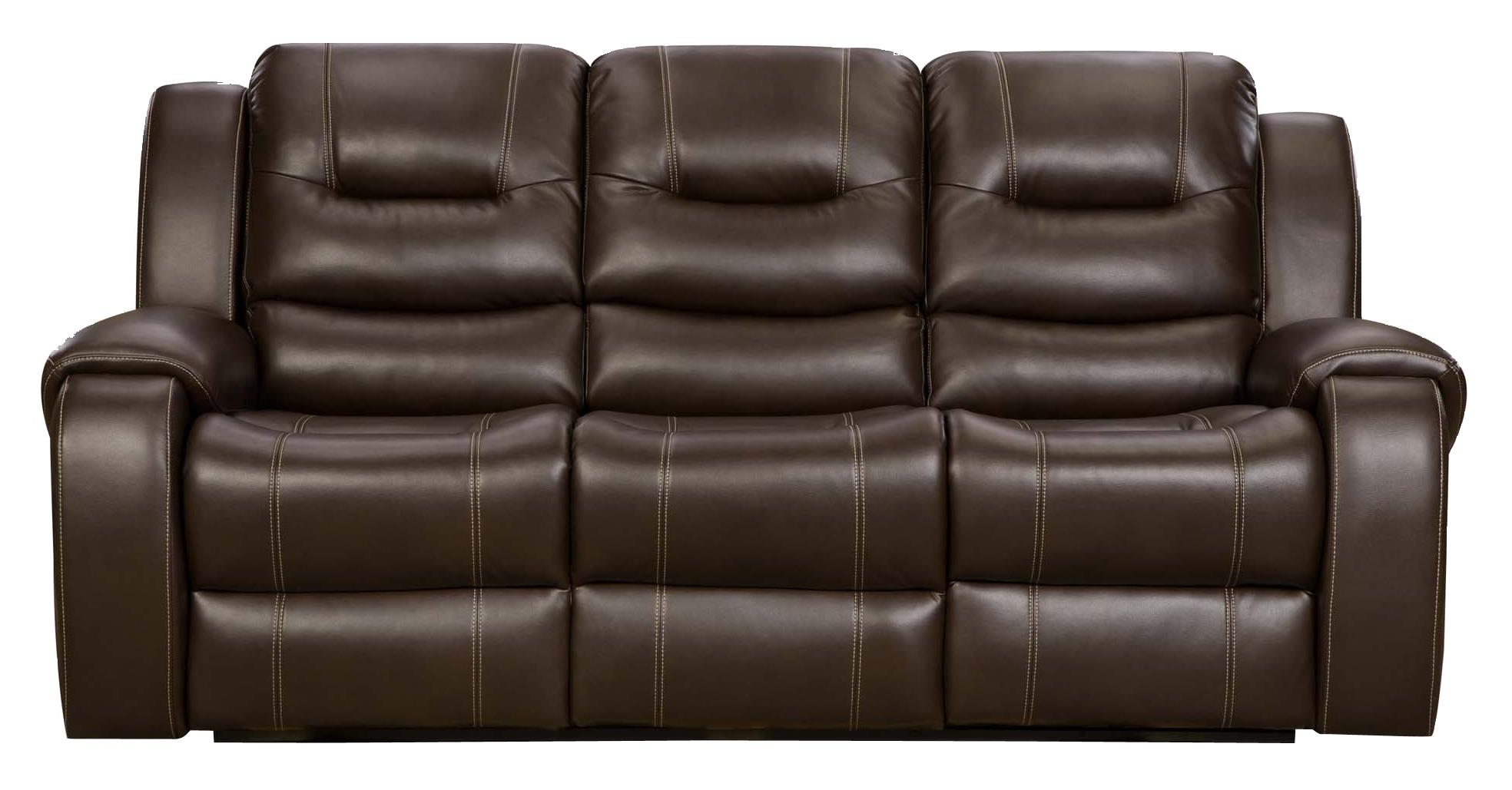 Madison Reclining Sofa with 2 Reclining Seats Belfort Furniture