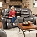 VFM Signature 71407 Power Reclining Loveseat with Console - Item Number: 71407-49-MADE-OUT