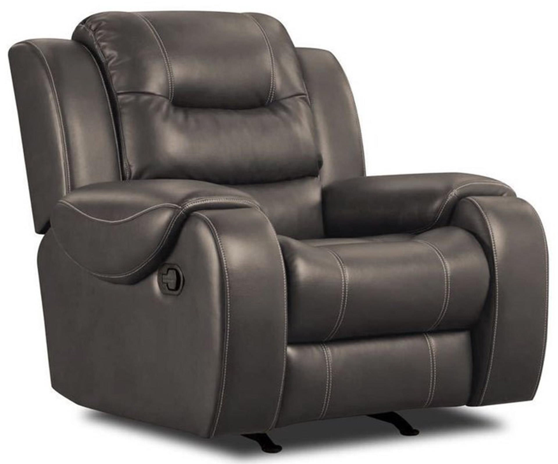 Jamestown Smoke Rocker Recliner
