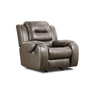 Corinthian Jamestown Jamestown Smoke Rocker Recliner