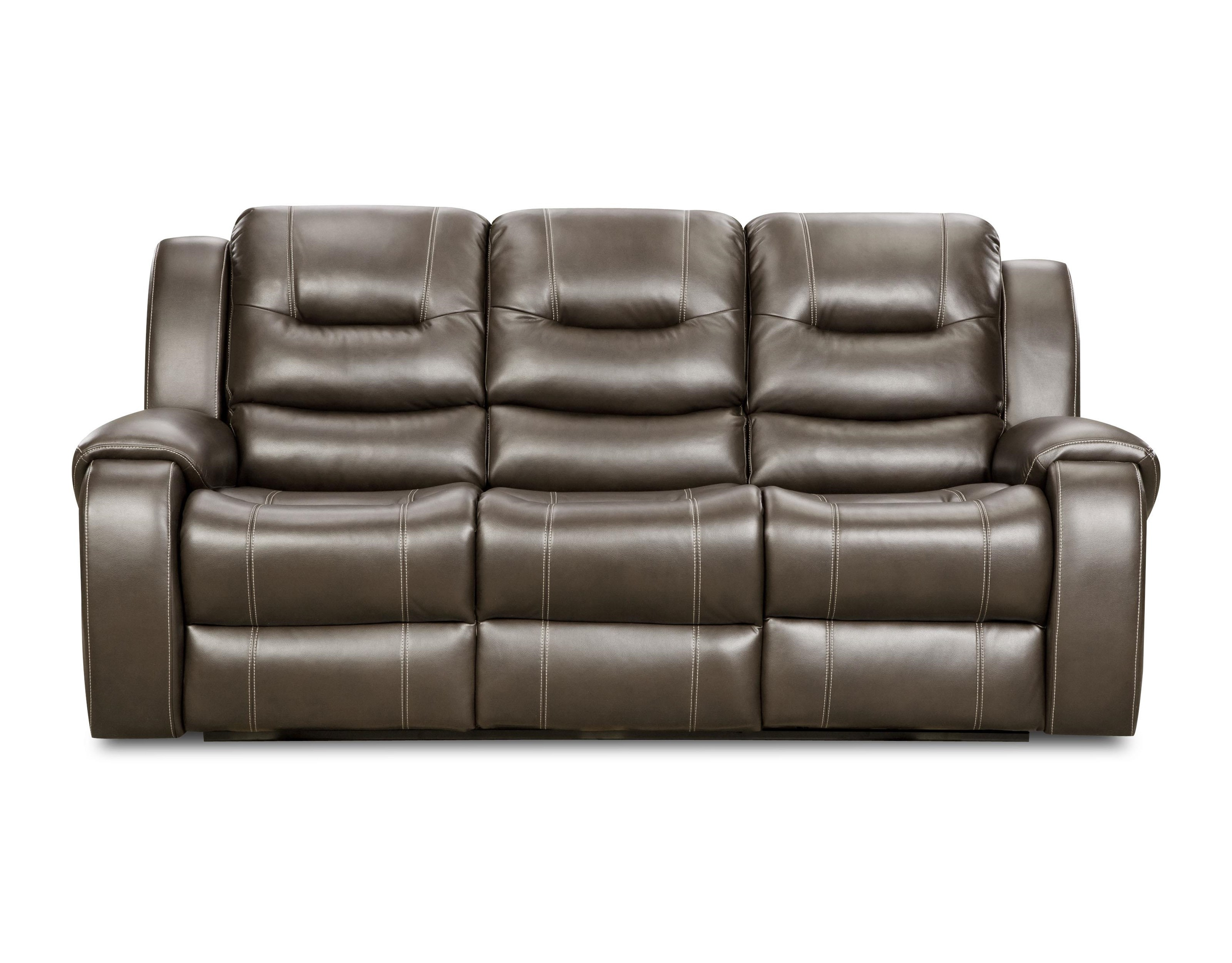 Genial Corinthian Jamestown Jamestown Smoke Reclining Sofa   Item Number:  CORI 71407 30