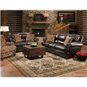 Corinthian 71A0 Sofa with Traditional Style and Nail Head Trim
