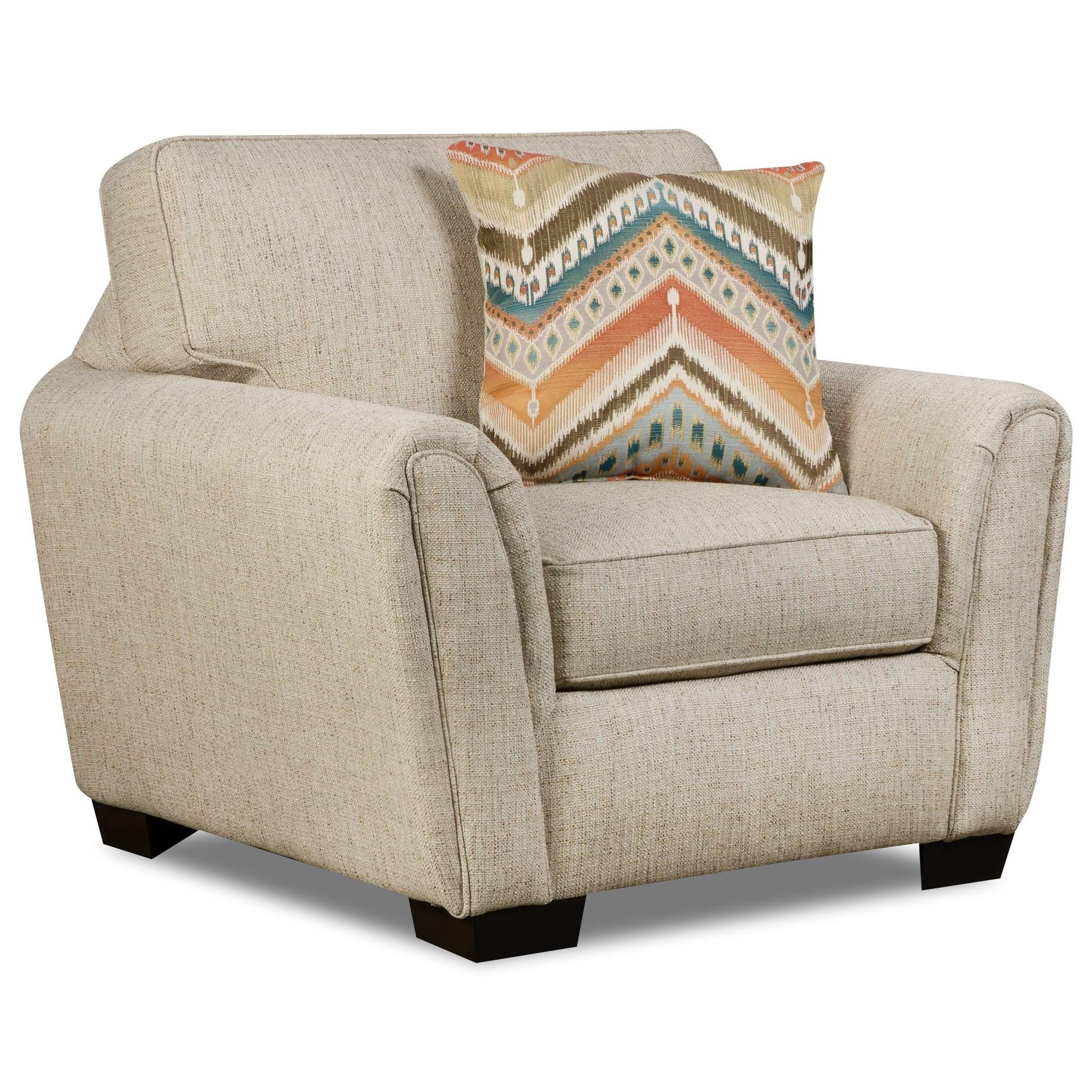 Corinthian Desiree Chair - Item Number: 7351-Desiree-Canival