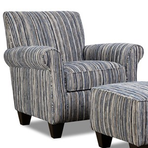 Corinthian 7380 Contrast Accent Chair