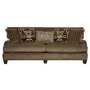 Corinthian Prodigy Prodigy Mink Sofa