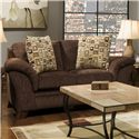 Corinthian 8420 Upholstered Love Seat - Item Number: 8422