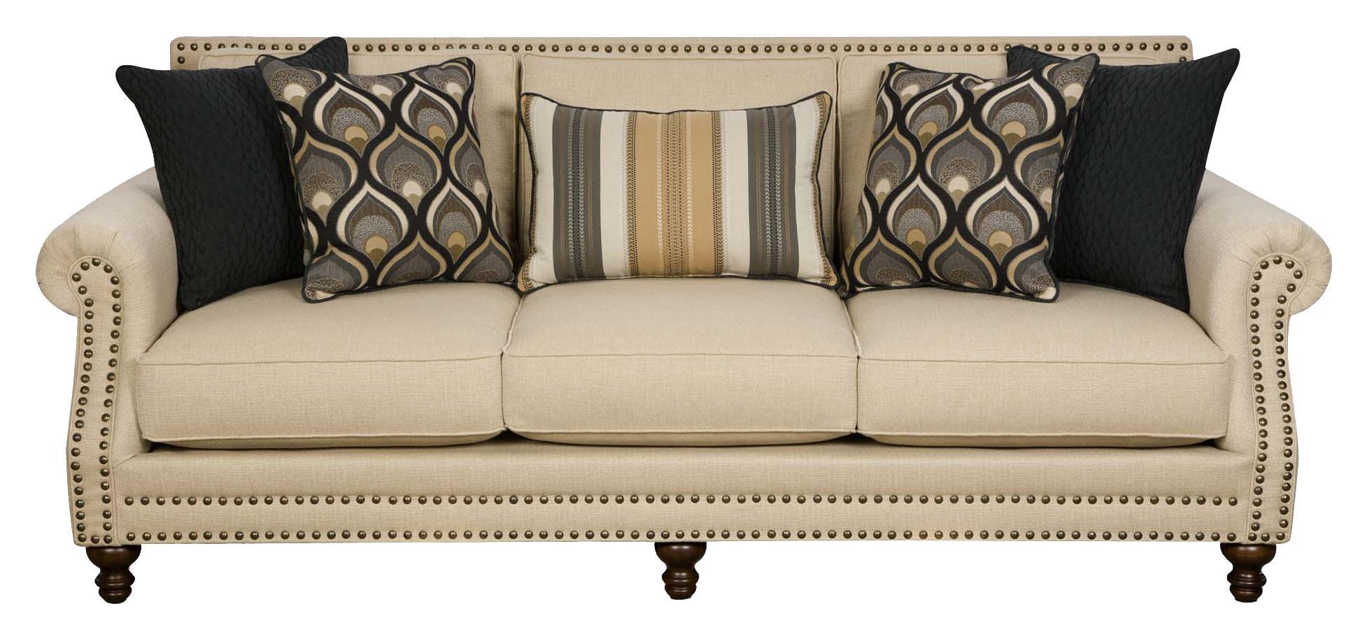 Corinthian 84A0 Oatfield Sofa - Item Number: 84A3