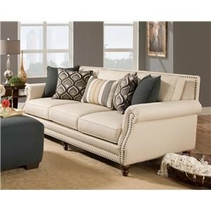 Corinthian 84A0 Sofa, Chair & Ottoman