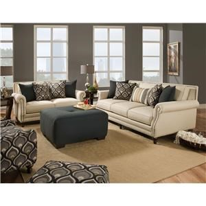 Corinthian 84A0 Oatfield Sofa & Loveseat