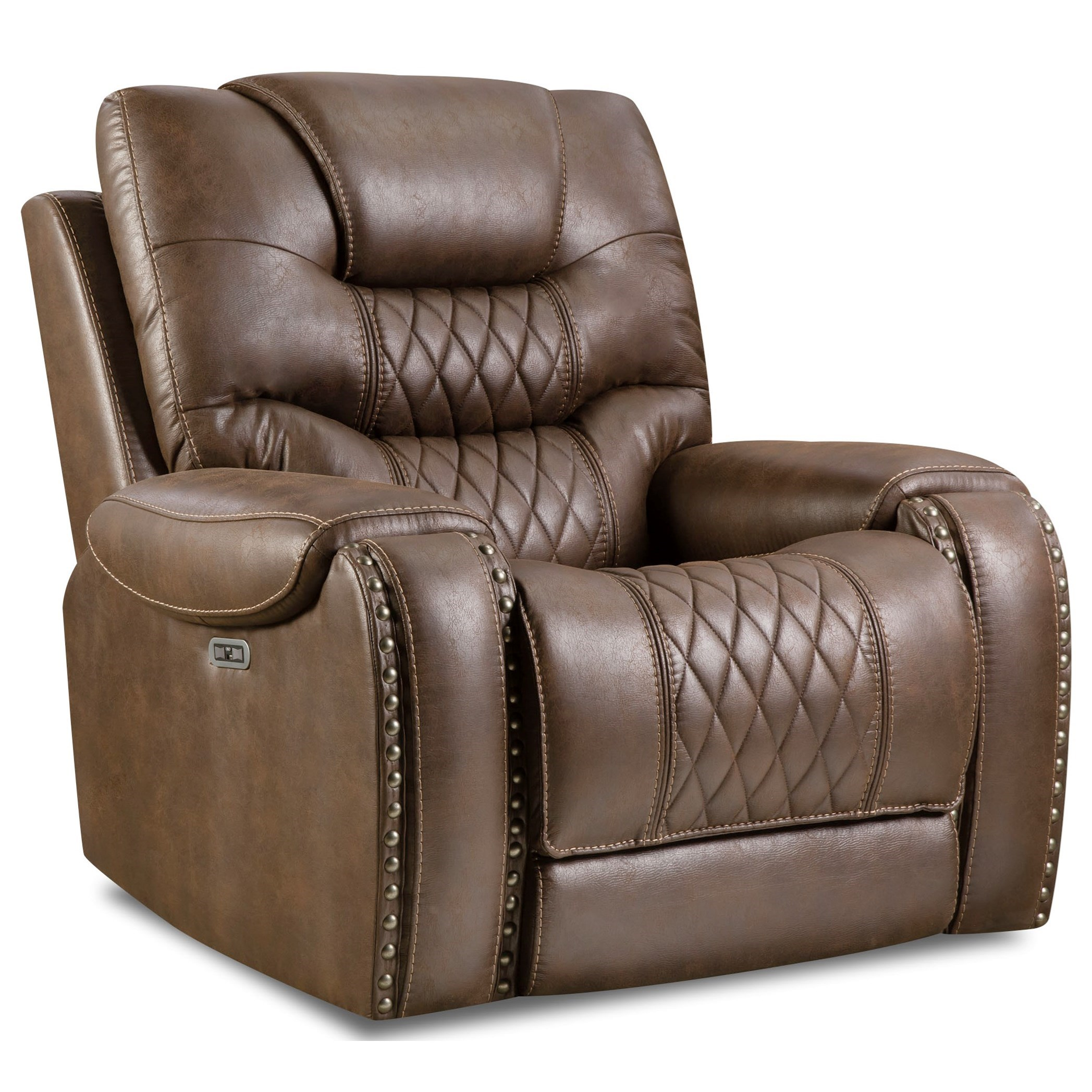 Sandhurst Power Headrest Recliner by Corinthian at Standard Furniture