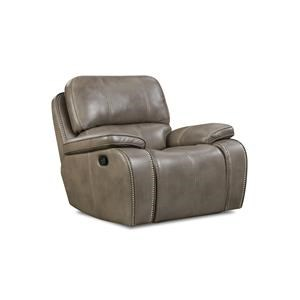 Corinthian Jamestown Smoke Glider Recliner