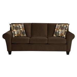 90B Queen Size Sleeper Sofa by Corinthian