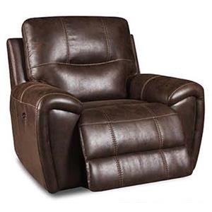 Corinthian 91001 Desert Chocolate Rocker Recliner