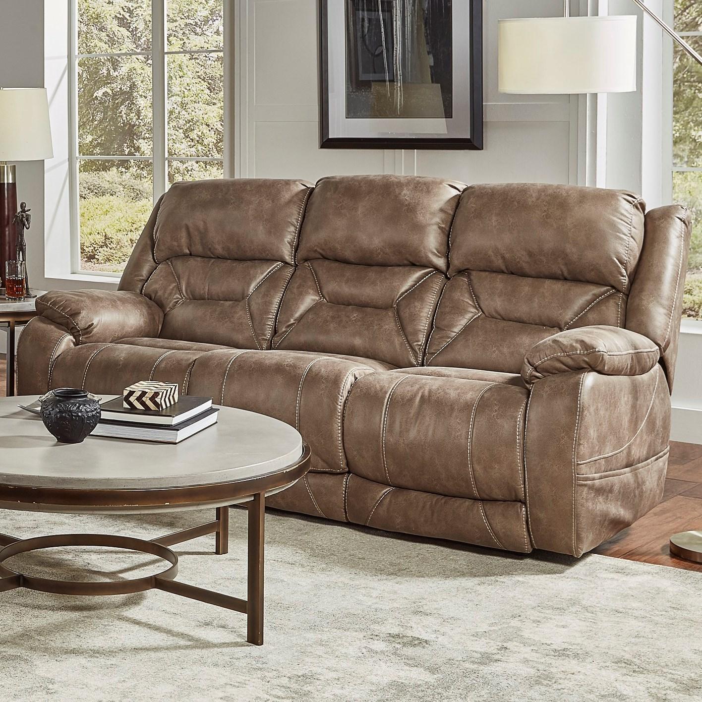 94807 Power Headrest Sofa with Lumbar at Virginia Furniture Market
