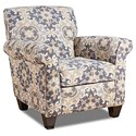 Corinthian 97C0 Accent Chair - Item Number: FGAC897C-BENNINGTON-STORM