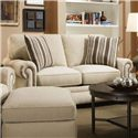 Corinthian 97A0 Loveseat - Item Number: 97A2-Fairley-Sand