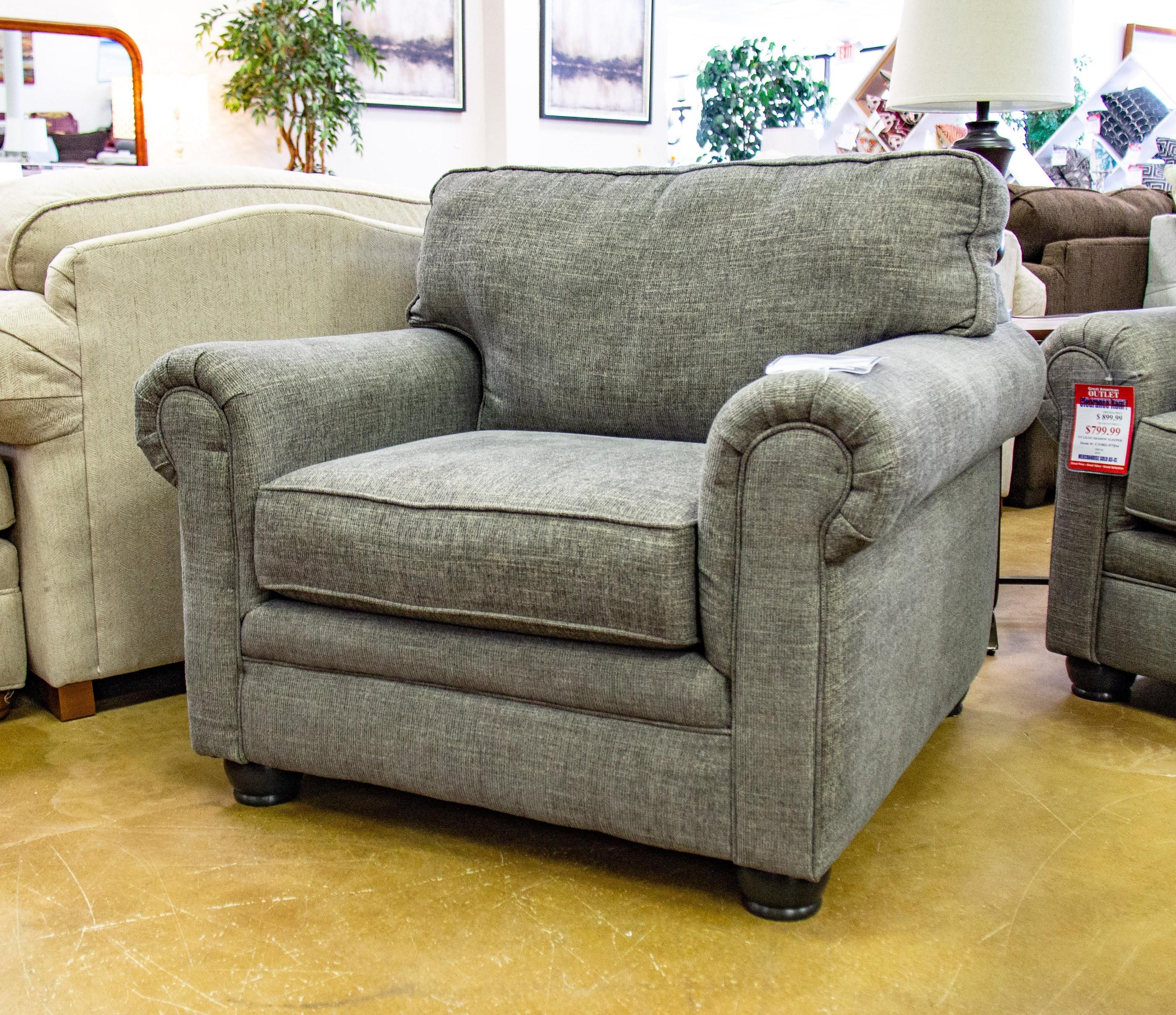 Corinthian Lilou Shadow Chair - Item Number: 97D1