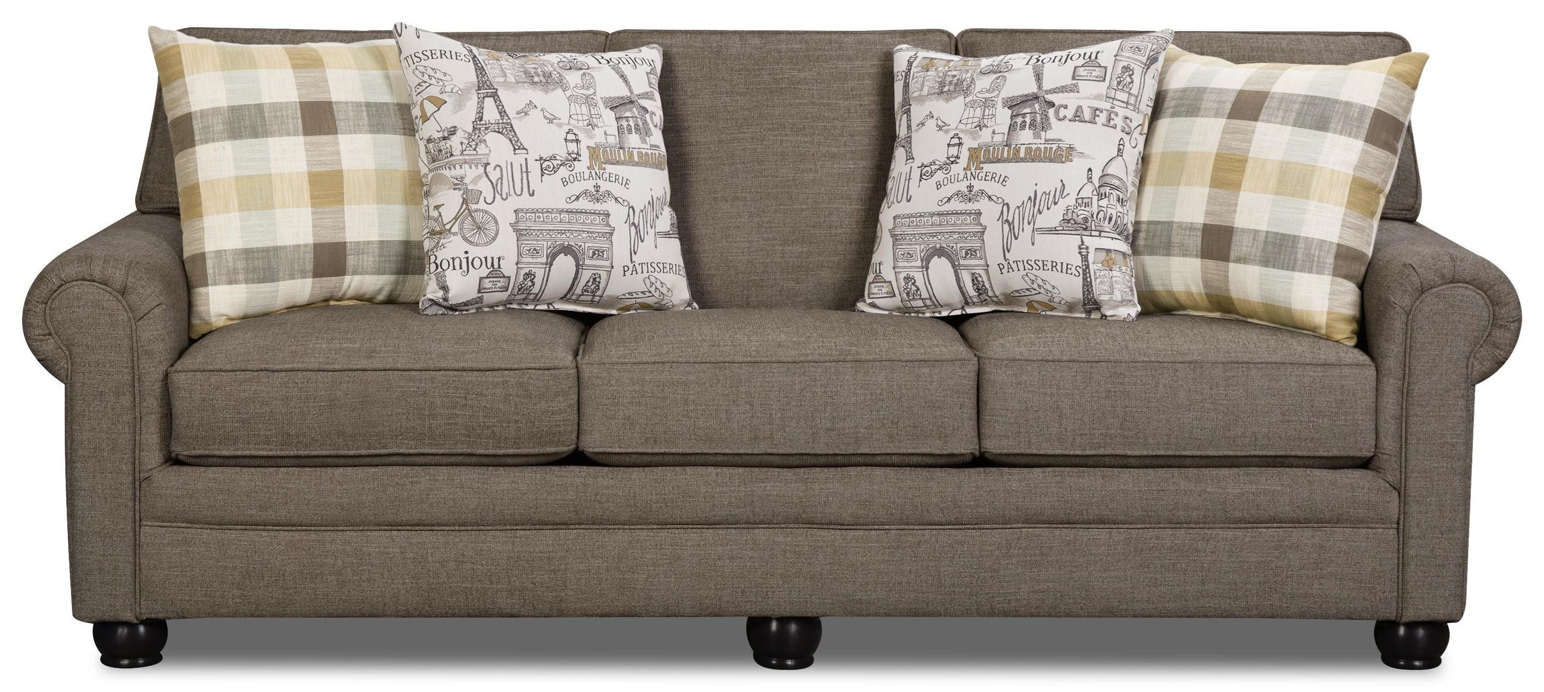 Corinthian Lilou Shadow Sofa - Item Number: 97D3