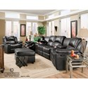 Corinthian Brady Collection Swivel Glider Recliner