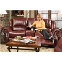 Corinthian 99901 Reclining Console Loveseat - Item Number: 99901-45