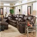Corinthian Brady 6 Piece Home Theater Seating - Item Number: PKG541521