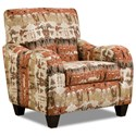 Corinthian 35B0 Chair - Item Number: FG35B1 Reflection Lava