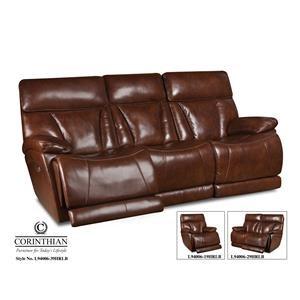 Corinthian L9400 Leather Power Reclining Sofa