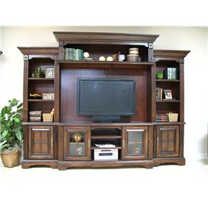 Coronado 7349 Traditional Cherry 5pc Wall Unit