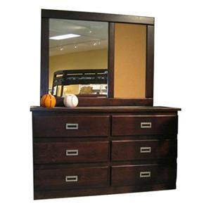 Coronado Merlot I Dresser/Mirror