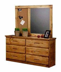 Coronado Ponderosa I Dresser and Mirror