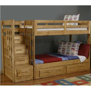Coronado Ponderosa Stair Bunk Bed Bigfurniturewebsite Bunk Bed