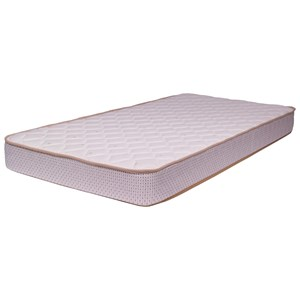 "Corsicana 1000 Crazy Quilt Foam Twin 6 1/2"" Foam Mattress"