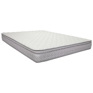 "Corsicana 1010 Cora Foam Euro Top King 8 1/2"" All Foam Mattress"
